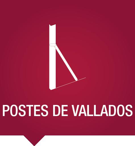 Postes de vallados