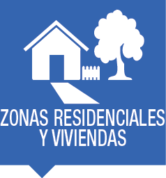 Zonas residenciales y viviendas